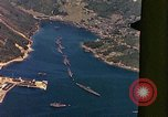Image of The Japanese submarines being taken to the sea Sasebo Bay Japan, 1946, second 55 stock footage video 65675022269