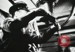 Image of Officers inside Japanese two-man midget submarine Pacific Theater, 1941, second 6 stock footage video 65675022276