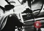 Image of Officers inside Japanese two-man midget submarine Pacific Theater, 1941, second 9 stock footage video 65675022276