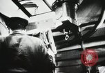 Image of Officers inside Japanese two-man midget submarine Pacific Theater, 1941, second 10 stock footage video 65675022276