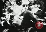 Image of Officers inside Japanese two-man midget submarine Pacific Theater, 1941, second 23 stock footage video 65675022276