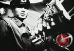 Image of Officers inside Japanese two-man midget submarine Pacific Theater, 1941, second 26 stock footage video 65675022276