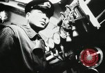 Image of Officers inside Japanese two-man midget submarine Pacific Theater, 1941, second 28 stock footage video 65675022276