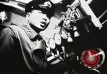 Image of Officers inside Japanese two-man midget submarine Pacific Theater, 1941, second 29 stock footage video 65675022276