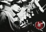 Image of Officers inside Japanese two-man midget submarine Pacific Theater, 1941, second 31 stock footage video 65675022276