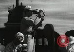 Image of Officers on Japanese submarine plot position and navigate Indian Ocean, 1942, second 21 stock footage video 65675022283