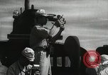Image of Officers on Japanese submarine plot position and navigate Indian Ocean, 1942, second 23 stock footage video 65675022283