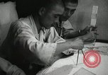 Image of Officers on Japanese submarine plot position and navigate Indian Ocean, 1942, second 40 stock footage video 65675022283