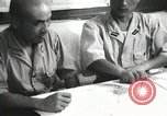 Image of Officers on Japanese submarine plot position and navigate Indian Ocean, 1942, second 58 stock footage video 65675022283
