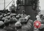 Image of Japanese submarine departs for a mission Indian Ocean, 1942, second 2 stock footage video 65675022287