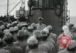 Image of Japanese submarine departs for a mission Indian Ocean, 1942, second 4 stock footage video 65675022287