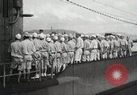 Image of Japanese submarine departs for a mission Indian Ocean, 1942, second 8 stock footage video 65675022287