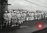 Image of Japanese submarine departs for a mission Indian Ocean, 1942, second 12 stock footage video 65675022287