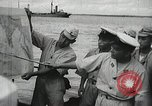 Image of Japanese submarine departs for a mission Indian Ocean, 1942, second 16 stock footage video 65675022287