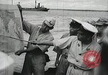 Image of Japanese submarine departs for a mission Indian Ocean, 1942, second 18 stock footage video 65675022287