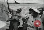 Image of Japanese submarine departs for a mission Indian Ocean, 1942, second 19 stock footage video 65675022287