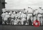 Image of Japanese submarine departs for a mission Indian Ocean, 1942, second 41 stock footage video 65675022287