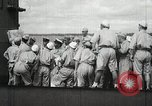 Image of Japanese submarine departs for a mission Indian Ocean, 1942, second 42 stock footage video 65675022287