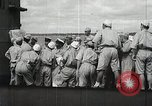 Image of Japanese submarine departs for a mission Indian Ocean, 1942, second 43 stock footage video 65675022287