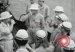 Image of Japanese submarine departs for a mission Indian Ocean, 1942, second 57 stock footage video 65675022287