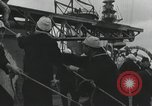 Image of Biplane on Japanese ship Japan, 1940, second 21 stock footage video 65675022298