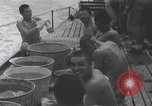Image of Routine activities of Japanese sailors on submarine at sea Japan, 1941, second 58 stock footage video 65675022304