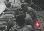 Image of Routine activities of Japanese sailors on submarine at sea Japan, 1941, second 59 stock footage video 65675022304