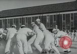 Image of Japanese sailors completing training in World War 2 Japan, 1942, second 25 stock footage video 65675022309