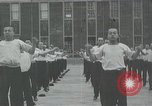 Image of Japanese sailors completing training in World War 2 Japan, 1942, second 31 stock footage video 65675022309