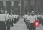 Image of Japanese sailors completing training in World War 2 Japan, 1942, second 32 stock footage video 65675022309
