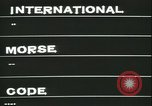Image of International Morse code United States USA, 1966, second 28 stock footage video 65675022310