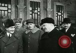 Image of Vyacheslav Mikhaylovich Molto and General Charles de Gaulle Moscow Russia Soviet Union, 1944, second 60 stock footage video 65675022349