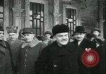 Image of Vyacheslav Mikhaylovich Molto and General Charles de Gaulle Moscow Russia Soviet Union, 1944, second 61 stock footage video 65675022349