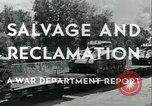 Image of Salvage and Reclamation Europe, 1947, second 14 stock footage video 65675022352