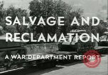 Image of Salvage and Reclamation Europe, 1947, second 15 stock footage video 65675022352