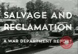 Image of Salvage and Reclamation Europe, 1947, second 16 stock footage video 65675022352