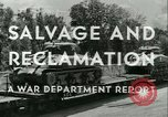 Image of Salvage and Reclamation Europe, 1947, second 18 stock footage video 65675022352