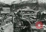 Image of military salvage operations Europe, 1947, second 25 stock footage video 65675022353
