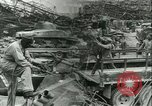 Image of military salvage operations Europe, 1947, second 28 stock footage video 65675022353