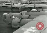 Image of World War 2 aircraft being stored and salvaged Tucson Arizona USA, 1947, second 45 stock footage video 65675022355