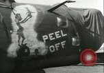 Image of World War 2 aircraft being stored and salvaged Tucson Arizona USA, 1947, second 57 stock footage video 65675022355