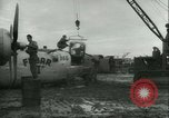 Image of Reclaiming Salvaged Aircrafts Davis-Monthan AFB Arizona USA, 1947, second 50 stock footage video 65675022356