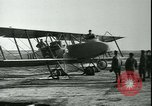 Image of bi-winged Letord aircraft Gironde France, 1918, second 51 stock footage video 65675022376