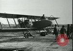 Image of bi-winged Letord aircraft Gironde France, 1918, second 52 stock footage video 65675022376
