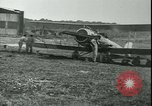Image of 99th Aero Squadron in World War 1 Dogneville France, 1918, second 1 stock footage video 65675022378