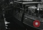 Image of Wounded US Army soldiers disembark from a steamer New York City Harbor USA, 1919, second 6 stock footage video 65675022382