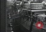 Image of Wounded US Army soldiers disembark from a steamer New York City Harbor USA, 1919, second 11 stock footage video 65675022382