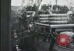 Image of Wounded US Army soldiers disembark from a steamer New York City Harbor USA, 1919, second 14 stock footage video 65675022382