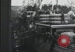 Image of Wounded US Army soldiers disembark from a steamer New York City Harbor USA, 1919, second 16 stock footage video 65675022382