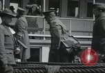 Image of Wounded US Army soldiers disembark from a steamer New York City Harbor USA, 1919, second 38 stock footage video 65675022382